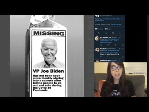 WHERE TF IS JOE BIDEN????? (for real this time) #WhereIsJoeBiden
