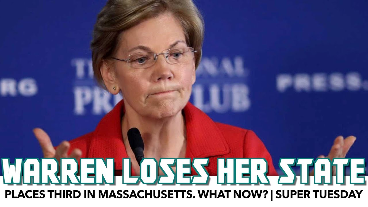 Warren Places Third In Her Own State. What Now? | Super Tuesday