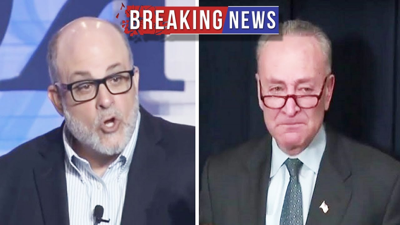 Mark Levin Says Chuck Schumer Must Be Disbarred, Doesn't Buy Chuck's Crocodile Tears