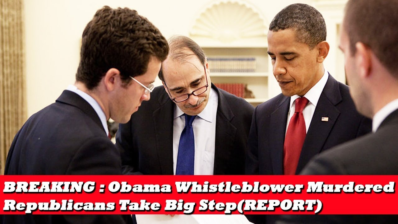 BREAKING : Obama Whistleblower Murdered , Republicans Take Big Step(REPORT)