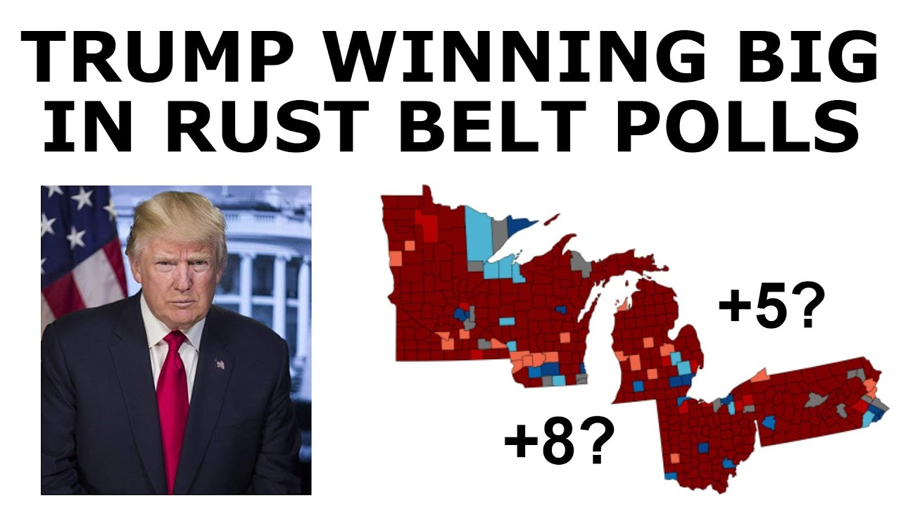 Trump DESTROYING Biden in Rust Belt States
