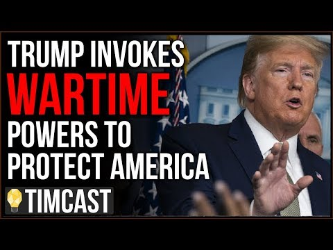 Trump Has Invoked Wartime Powers To Protect America, Shockingly MSNBC And CNN Are PRAISING Trump