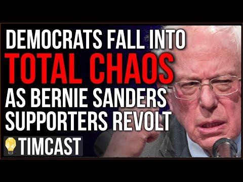 Democrats Descend Into CHAOS As Bernie Supporters REVOLT, Leftists Outraged Over Bernie's Betrayal