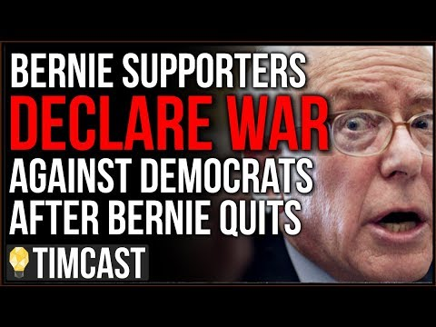 Bernie Sanders QUITS, Supporters Declare WAR On Democrats As Trump Calls On Them To Join Republicans