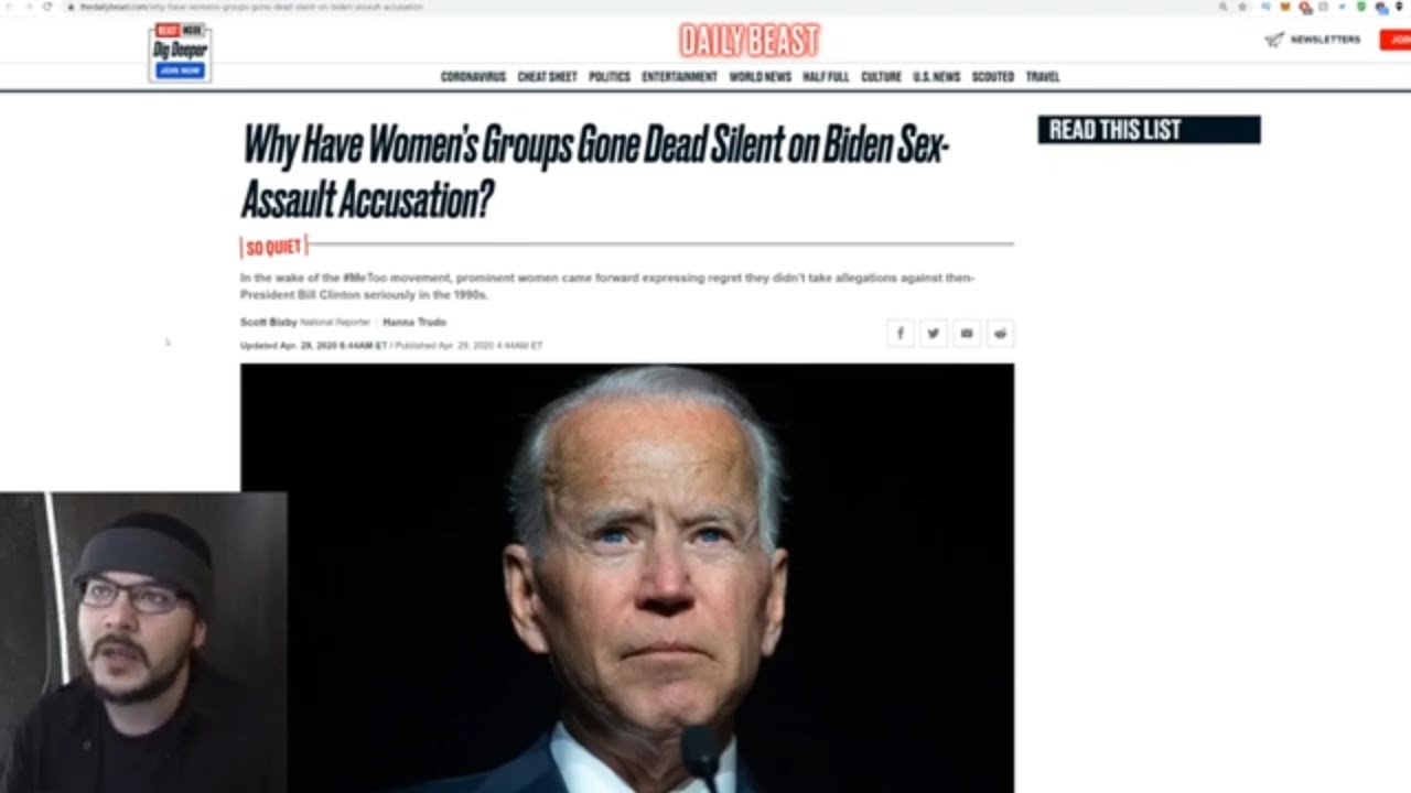 Democrats And Feminists EXPOSED As Frauds After Several Feminist Orgs REFUSE To Condemn Biden