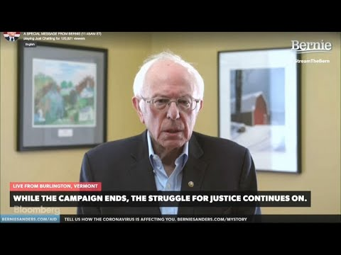 Bernie Sanders Says Path to Democratic Nomination Is Just Not There