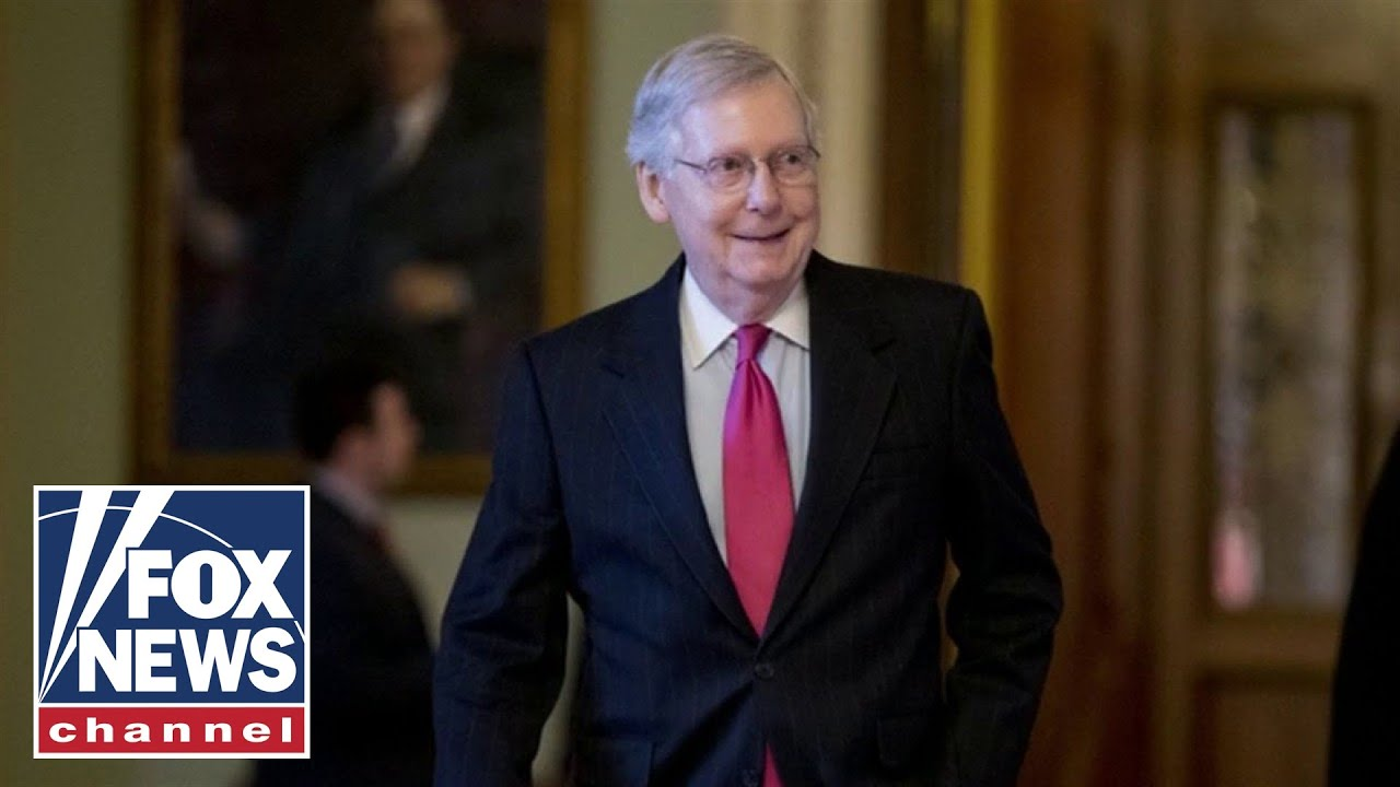 McConnell harshly responds to Pelosi's funding criticism