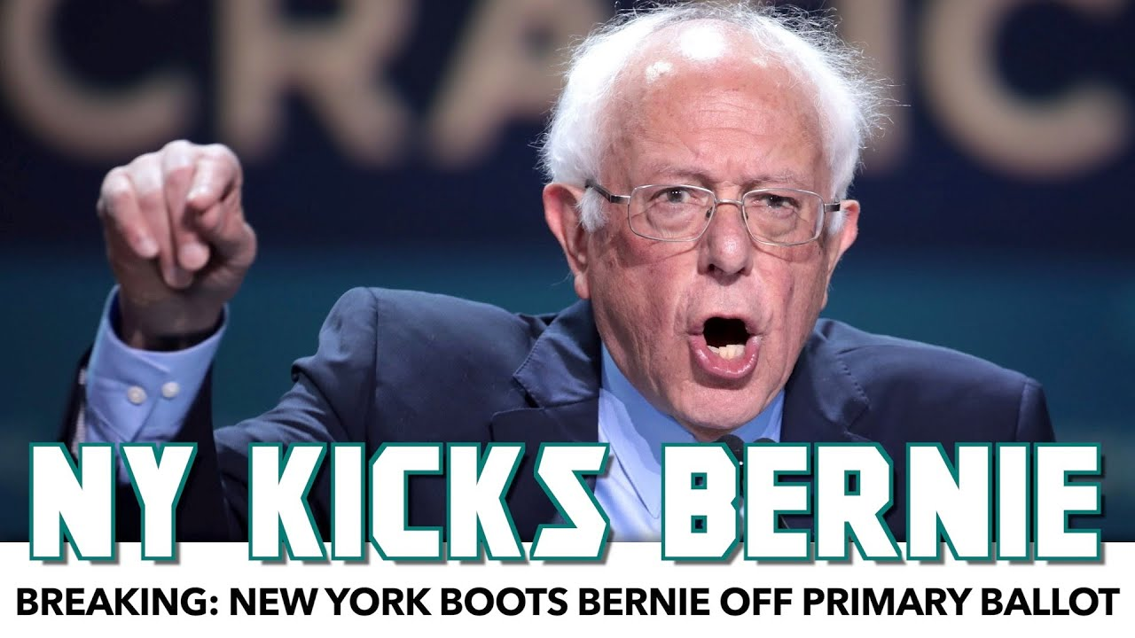 BREAKING: New York Kicks Bernie Off Primary Ballot