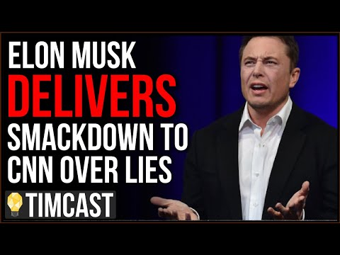 Elon Musk Delivers EPIC CNN Smackdown Over Lies, CNN REFUSES To Correct, Doubles Down With Fake News