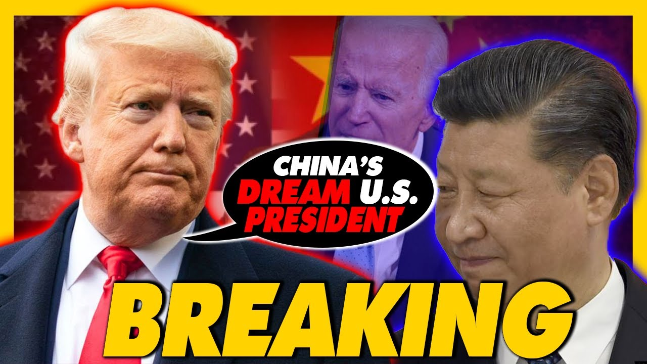 President trump Claims that china Will likely interfere in the election and they Will fight for Joe