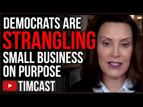Democrats Are STRANGLING Small Business On Purpose, Ignoring Science, Birx SHOCKED Lockdown Failing