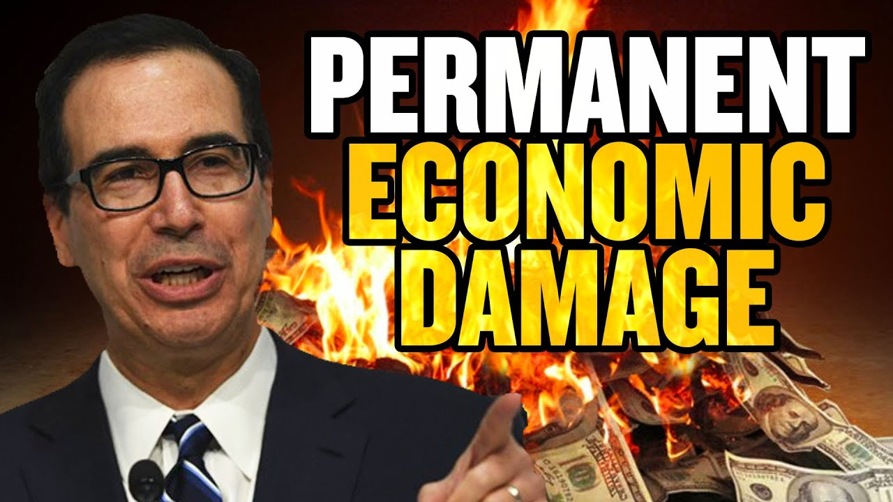 'Permanent Economic Damage' if US Doesn't Reopen: Treasury Secretary Mnuchin