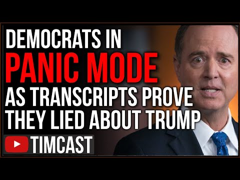 """Schiff Is In Panic Mode,"" Democrats Panic As Documents PROVE They Lied About Trump For Years"