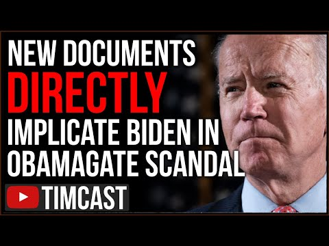 New Documents Directly Implicate Biden In Obamagate Scandal, Biden SLAMMED For Abuse Of Spying Power