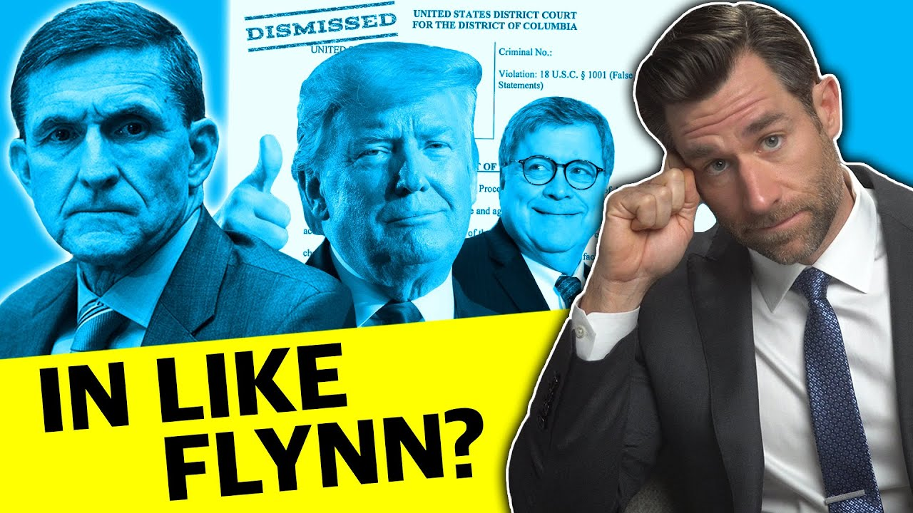 Left view of DOJ Dismisses Flynn? Not So Fast. (Left LegalEagle's  Review)
