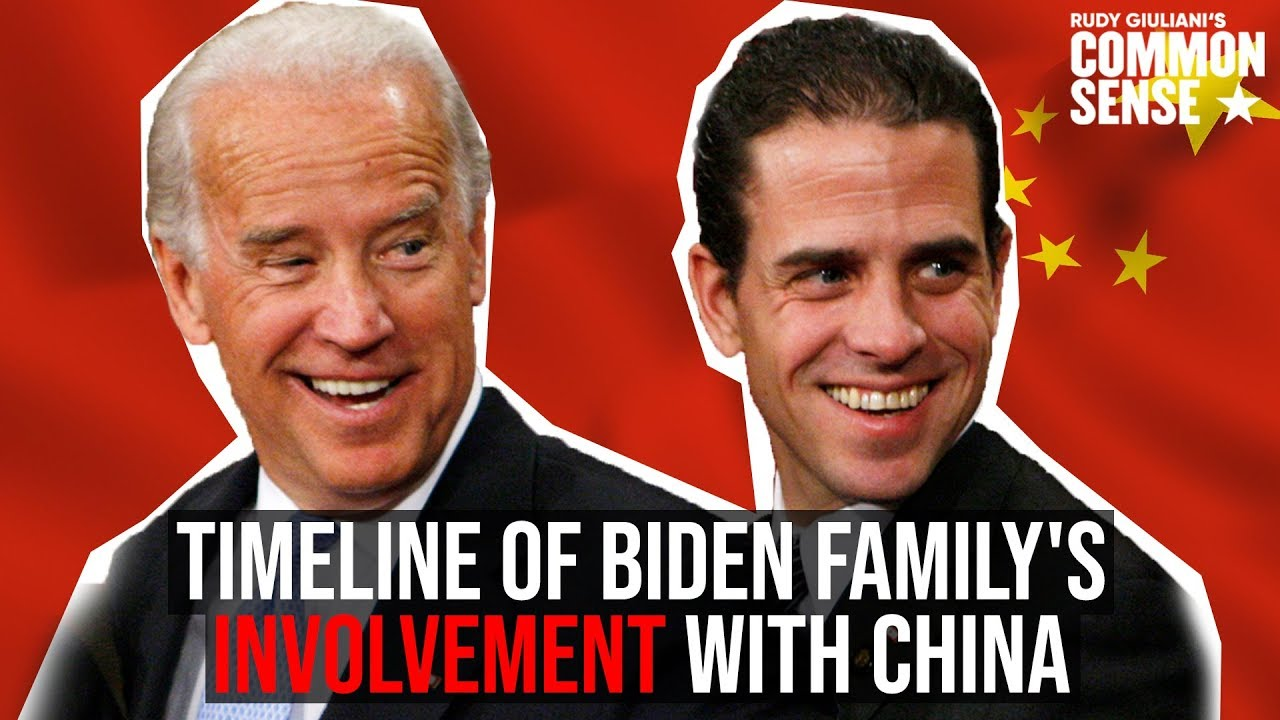 Biden China Timeline, 'The Chinese don't do anything with America unless part of larger strategy'