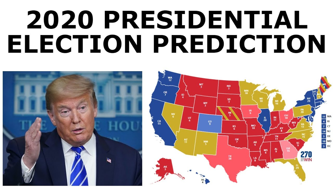 Updated 2020 Election Prediction (May 5, 2020)