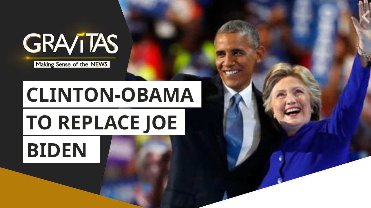 US Elections | Clinton-Obama to replace Joe Biden