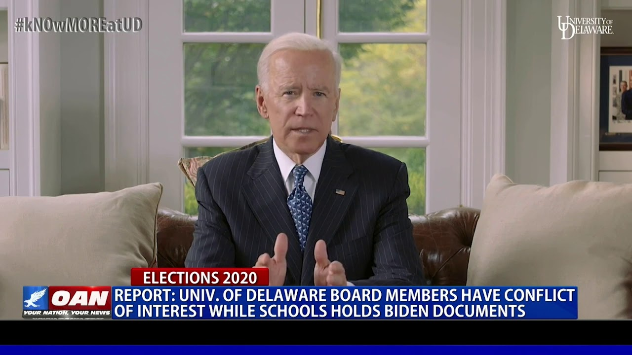 Report: Univ. of Delaware board members have conflict of interest while schools hold Biden documents