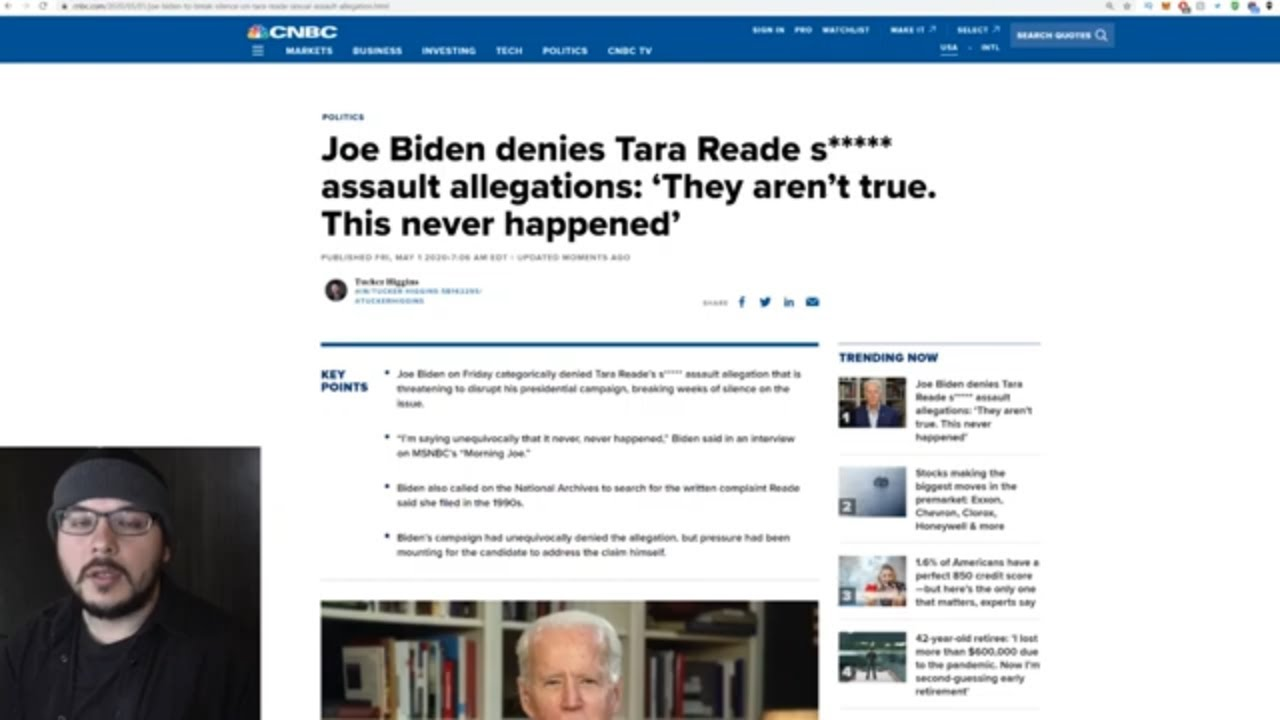 Biden FINALLY Addresses Accusation But Gets CAUGHT LYING, MSNBC Presses Him And He Just Melts Down