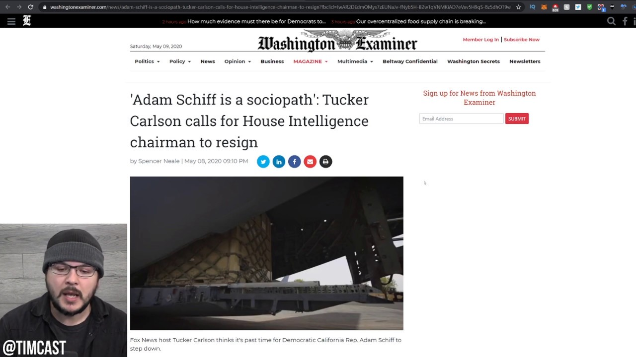 Tucker Carlson Calls On Adam Schiff To RESIGN, Leaked Call Shows Obama And Democrats PANICKING