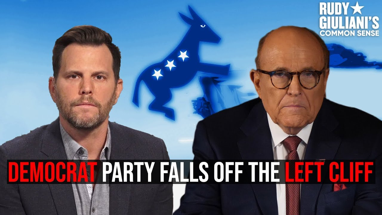 Democrat Party Falls Off the LEFT Cliff: Dave Rubin and Rudy Giuliani Left Behind