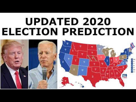 Updated 2020 Election Prediction (June 7, 2020)