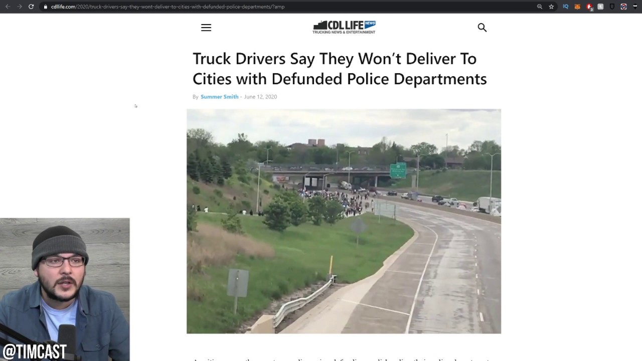 Leftist Policy Is DESTROYING Cities, Truckers REFUSE Deliveries, Jobs Are Gone, Property Value Gone
