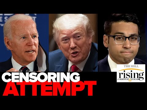 Biden's Facebook CENSORSHIP attempt against Trump is a threat to us all