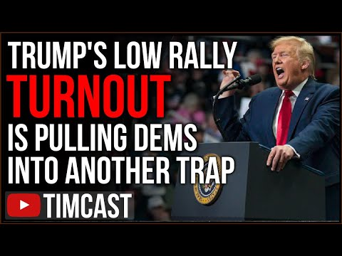 Trump's Low Rally Turnout Is Pulling Democrats Into A TRAP, They're So Arrogant It May Be 2016 AGAIN
