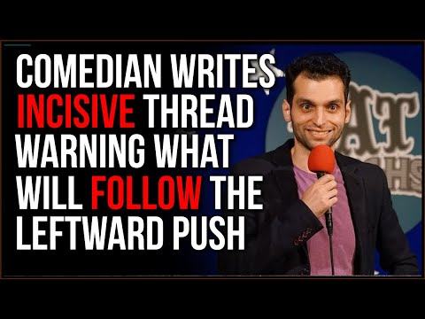 Comedian Gives POWERFUL Insights On What Will Happen If Push Left Continues, There Will Be BACKLASH