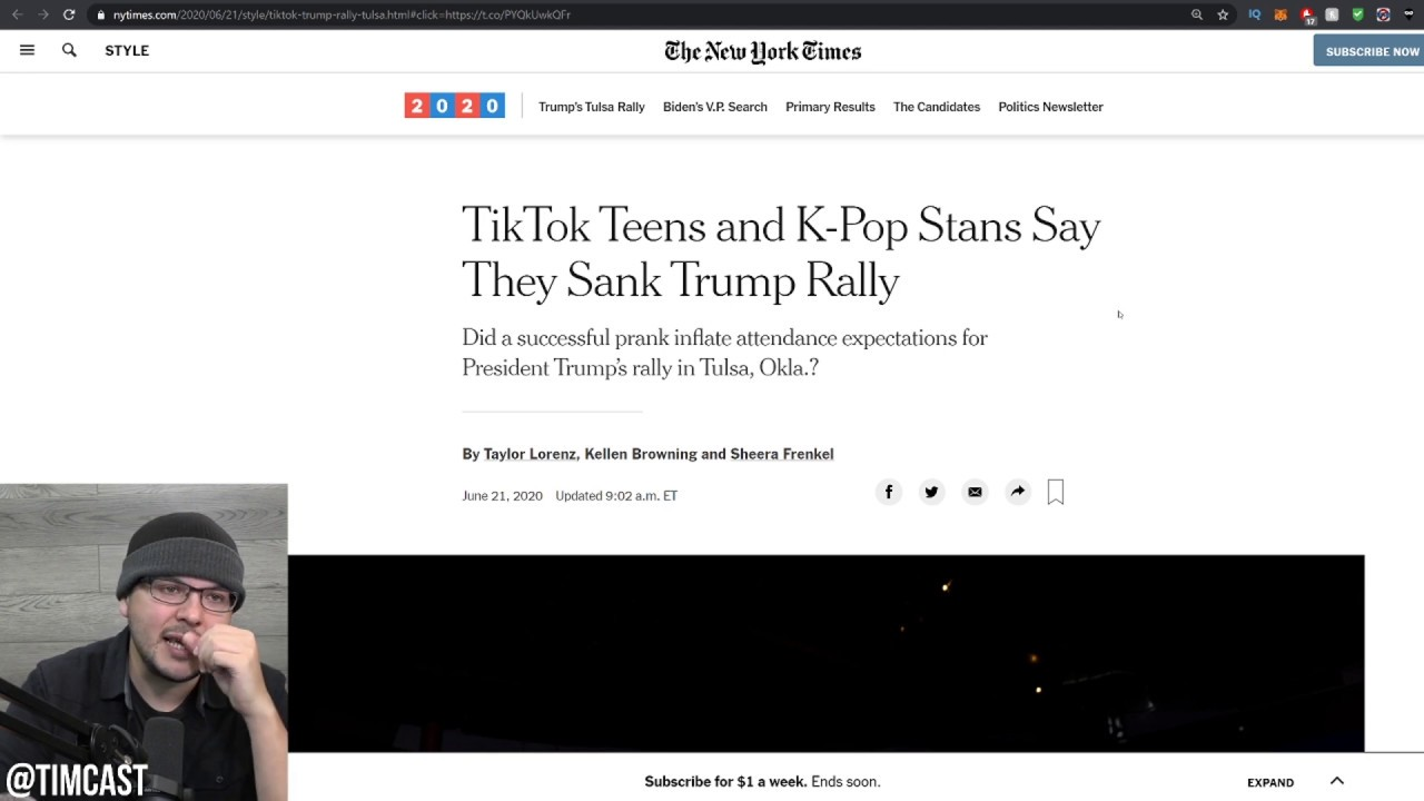 Leftists Claim Tik Tok Teens OWNED Trump, Mock Low Rally Turnout, But This STILL Could Help Trump