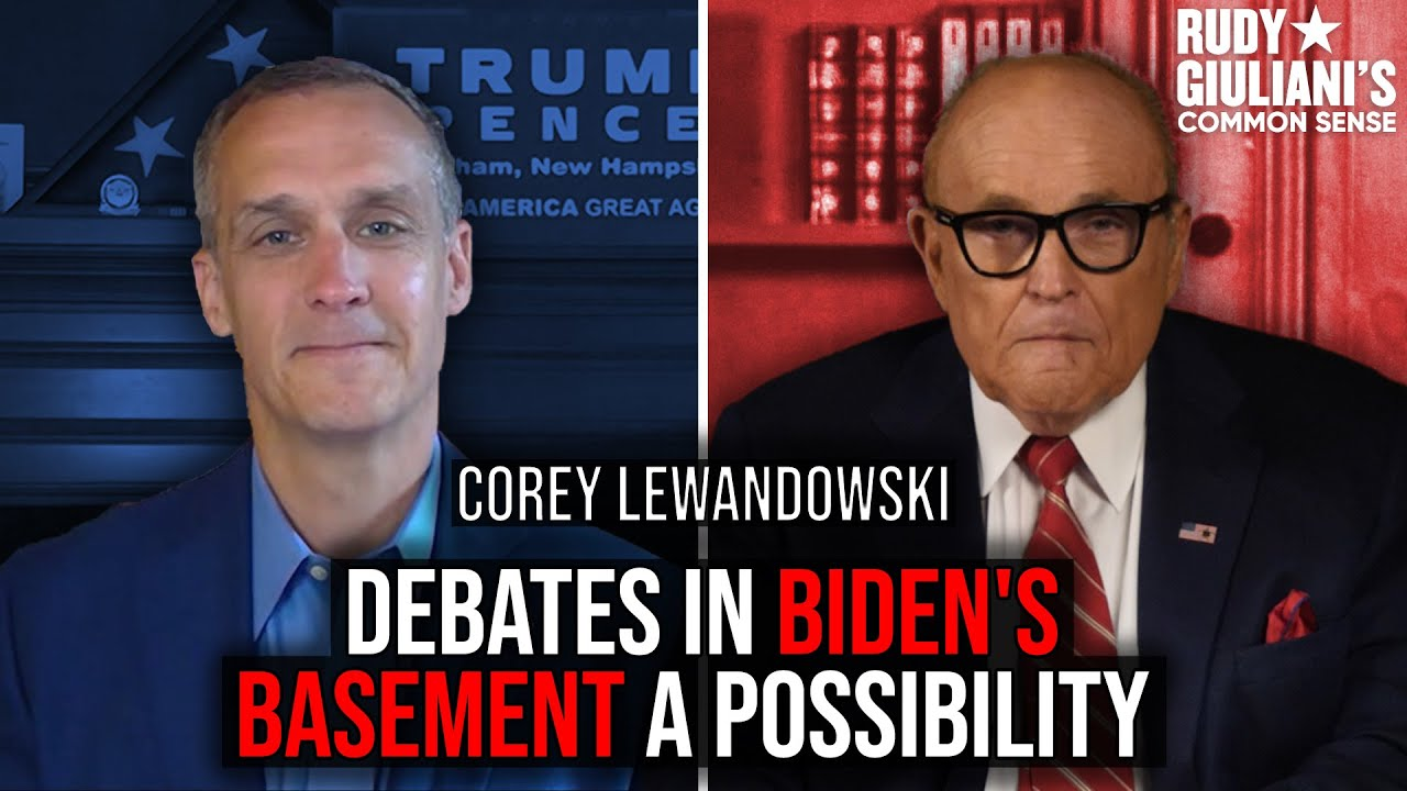 Debates In Biden's Basement A Possibility | Corey Lewandowski And Rudy Giuliani