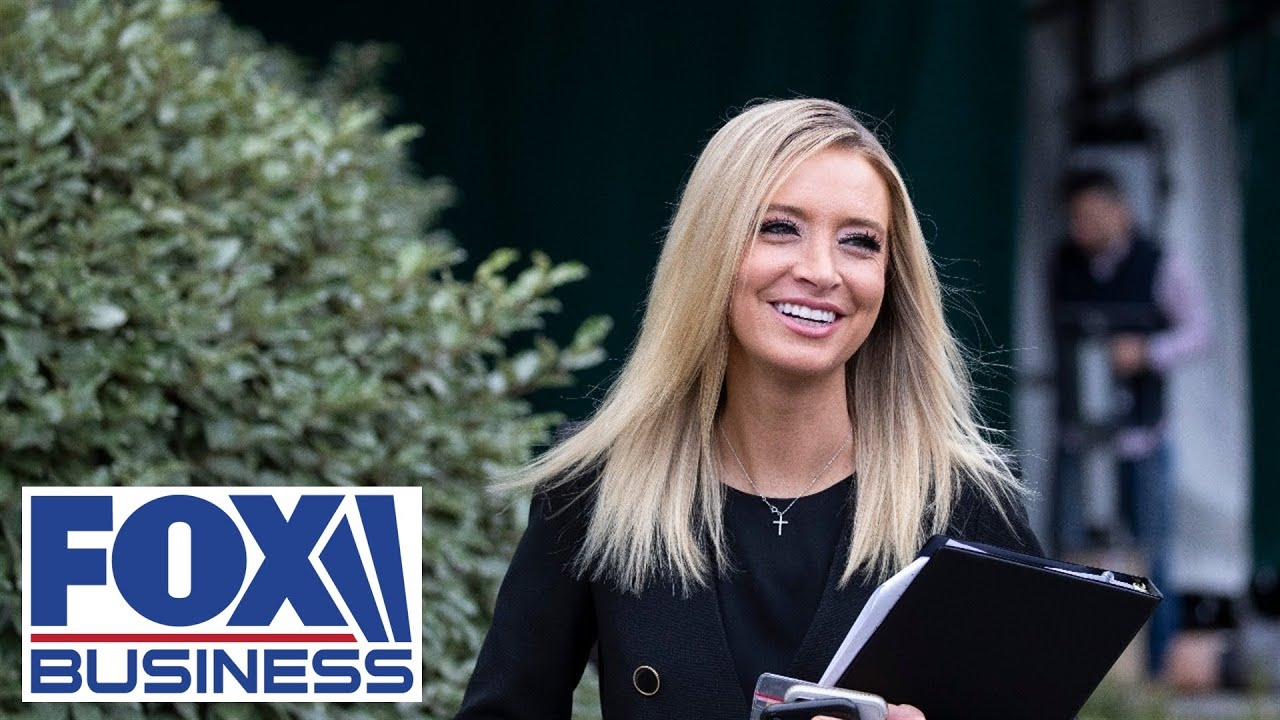 Economy boomming – Kayleigh McEnany – White House press conference