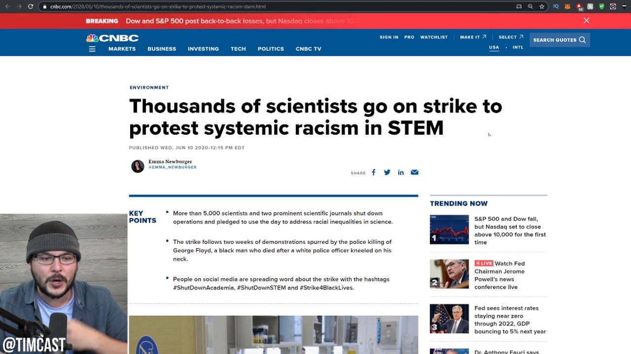 Social Justice Hits Science As Leftist Decry Inherent Racism Of STEM