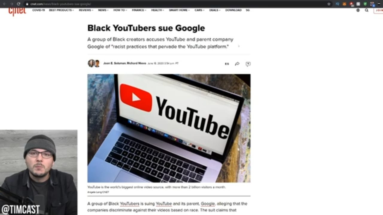 Black Youtubers Are Suing Google For Discrimination, This Could END Censorship On Youtube