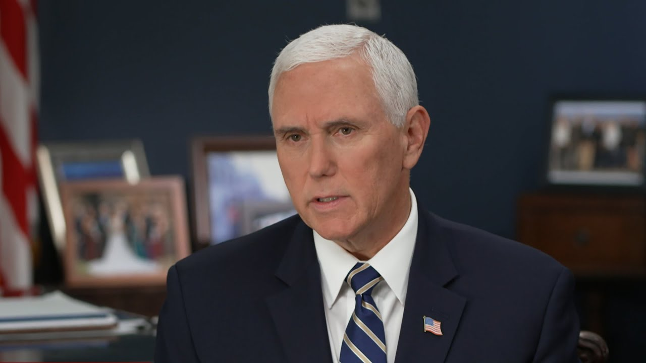 "Vice President Mike Pence on ""Face the Nation"""