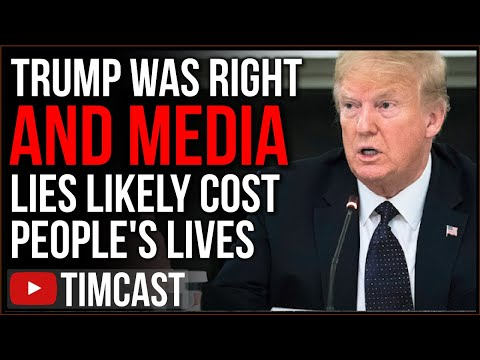 "Media And Democrats ""Political Hit Job"" Against Trump And COVID Medicine EXPOSED, Likely Cost Lives"