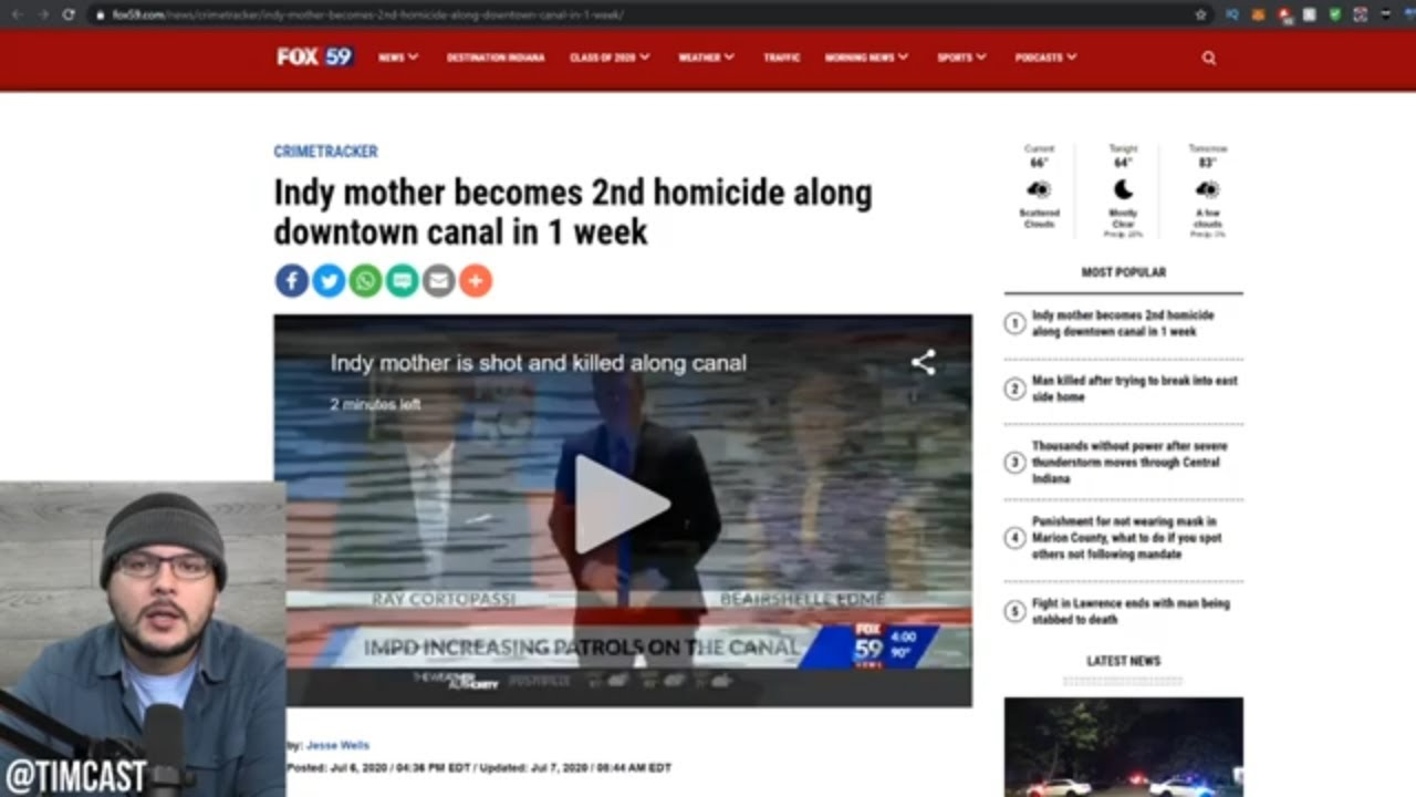 BLM Supporter Shoots Woman For Saying 'All Lives Matter' And News Tries To Cover It Up