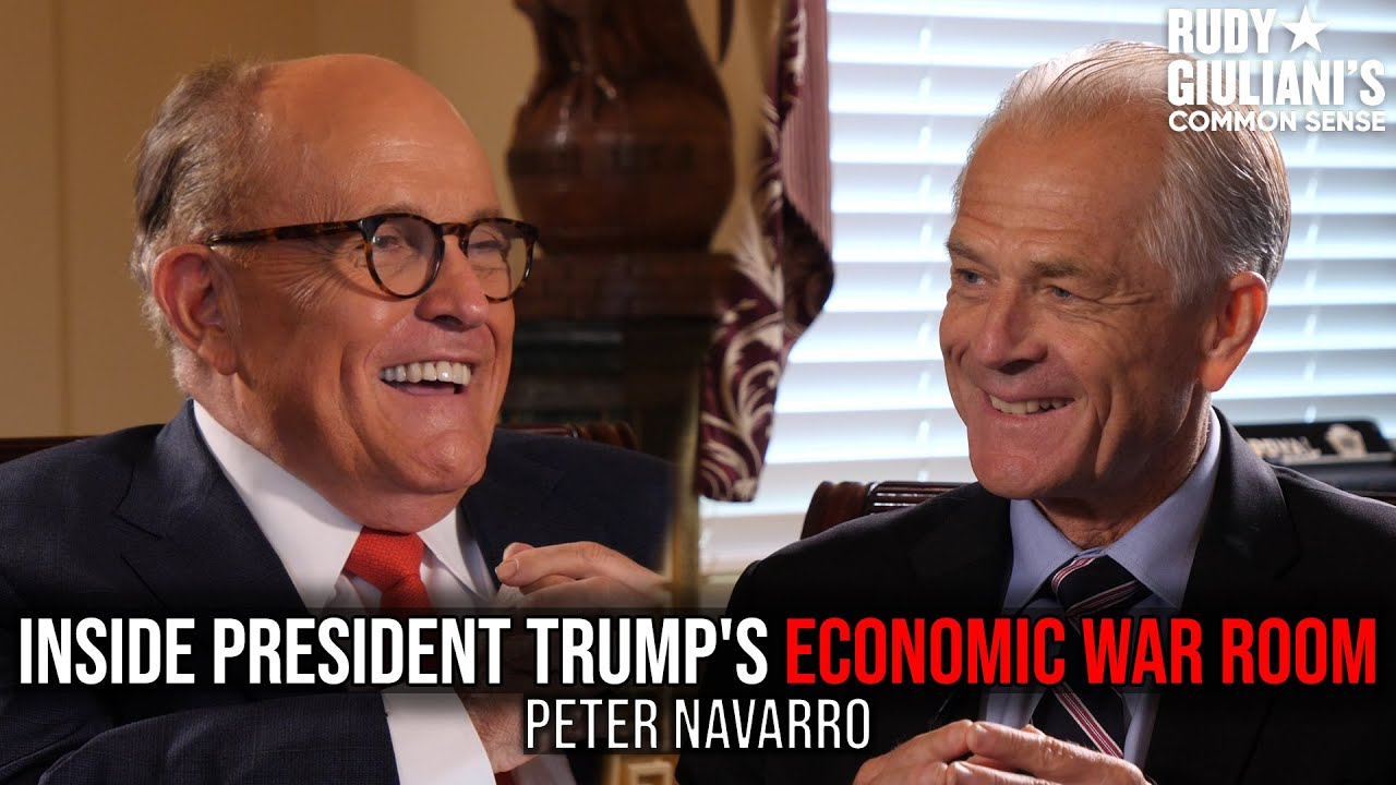 Inside President Trump's Economic War Room | Peter Navarro and Rudy Giuliani