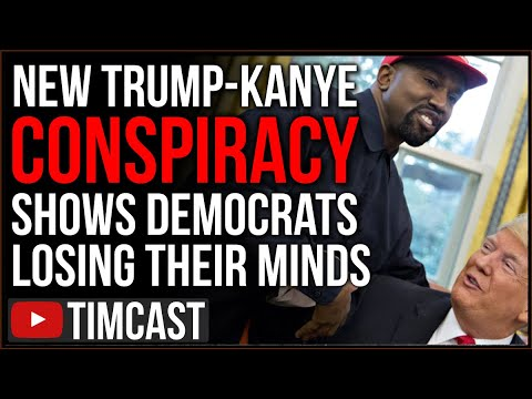Democrats PANIC After Kanye Says He's Running For President, They Think He's Conspiring With Trump