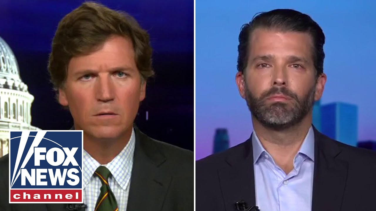 Don Jr. speaks out about temporary Twitter ban on 'Tucker Carlson Tonight'