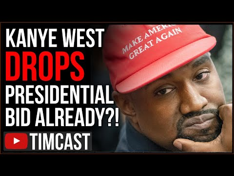 Kanye West Reportedly DROPS OUT, Polls Show He May Have HURT Trump But This Could be GOOD For Trump