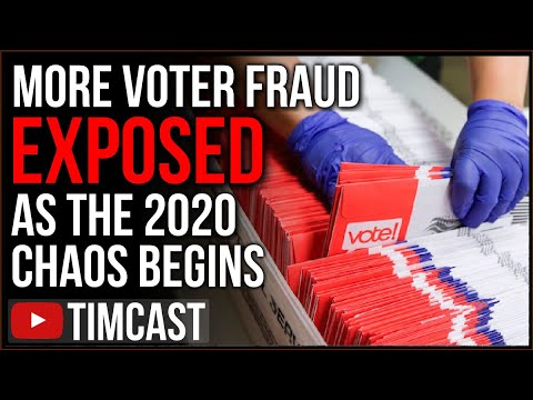 More Voter Fraud EXPOSED, Mailman Pleads Guilty, Cat Gets Voter Forms, 2020 Chaos Has ALREADY Begun