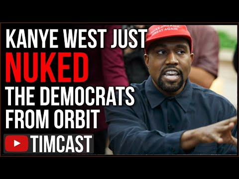 Kanye West Just NUKED Democrats From Orbit, Confirms he Is Running In 2020, Praises Trump