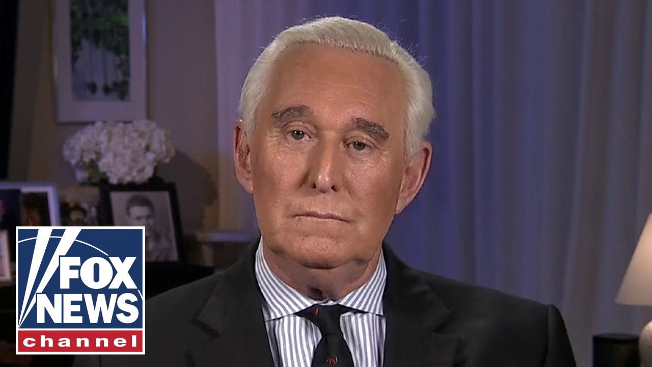 Roger Stone gives fiery first interview following commutation from Trump , explains Hillary/Mueller collusion and coercion.