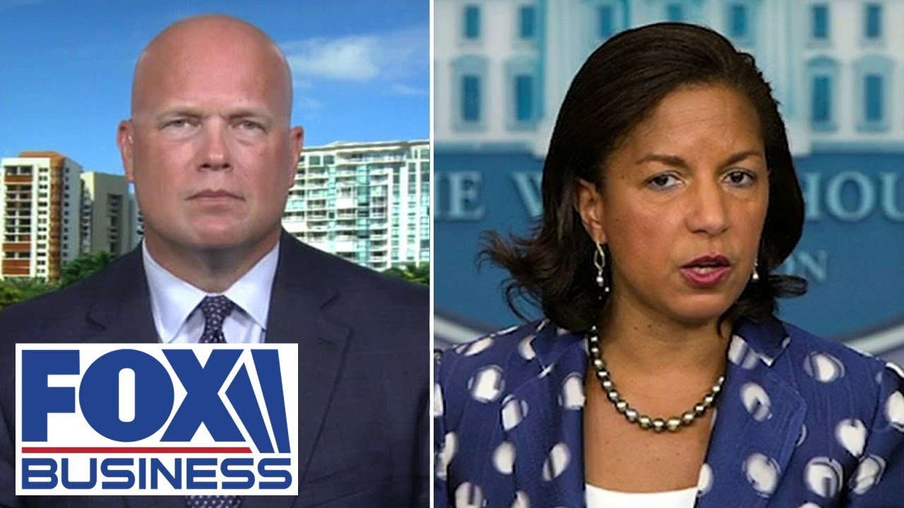 Whitaker rips Susan Rice: Obama admin did nothing to counter Russia interference