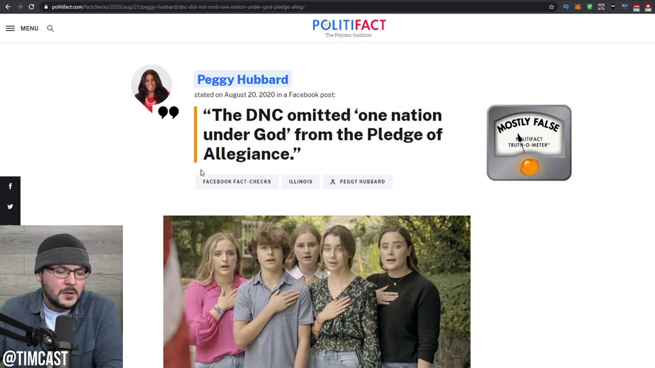 """ANOTHER Media Hoax Against Trump, They Claim He Lied About """"Under God"""" Removal At The DNC, HE DIDNT"""