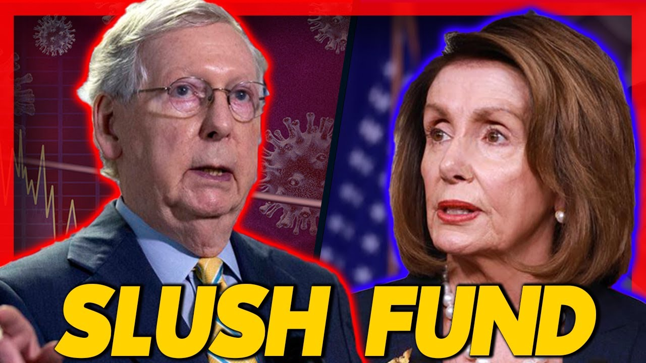 Democrats Demanding SLUSH FUND in Relief Package During Negotiations is Considered To Derail PPP