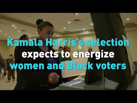 """Chinese government video promoting Kamala Harris's selection and how it expects to """"energize women and Black voters """""""